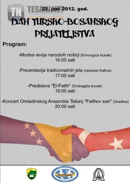 dan tursko bosanskog prijateljstva