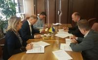 Predsjedavajući Duvnjak održao radni sastanak  sa predstavnicima Misije OSCE-a