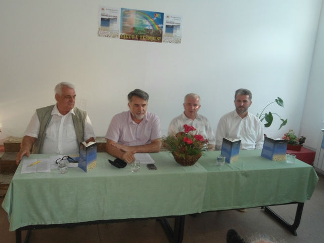 Ramiz Brkić, Fuada Šišić, prof. dr.Džemaludin Latić i mr. Esmir Bašić
