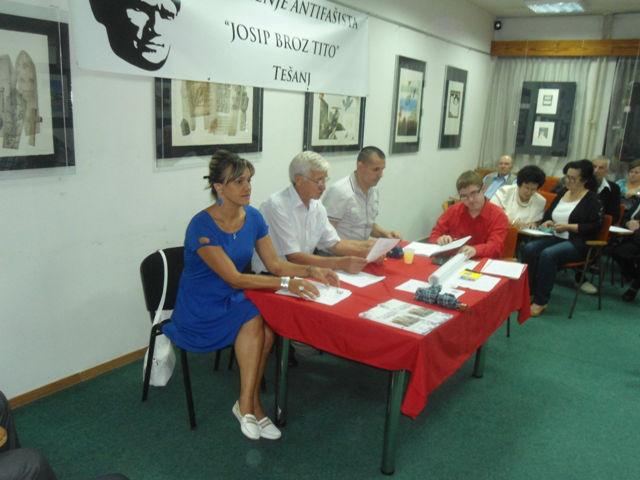 Jasna Mularifović, Salih Brkić, Amil Buljubašić i Ernad Hrvić